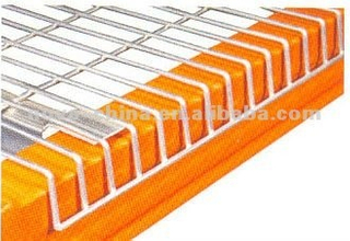 Inverted F Support Wire Mesh Decking for Pallet Rack