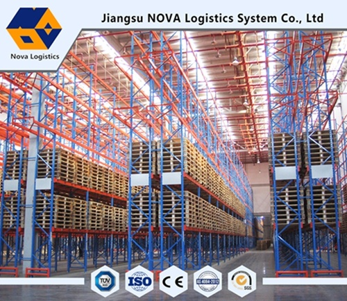 Heavy Duty Double Deep Pallet Racking From Nova