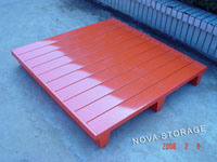 Heavy Duty Steel Pallet for Supporting Pallet Rack