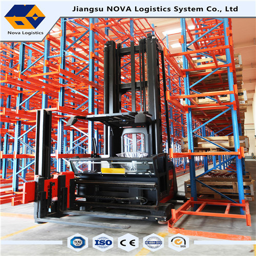 Heavy Duty Vna Pallet Racking with High Density