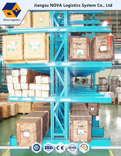 Single or Double Arm Warehouse Storage Cantilevered Racks