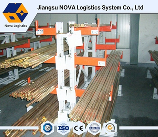 Electrastic Powder Coating Heavy Duty Cantilever Industrial Rack