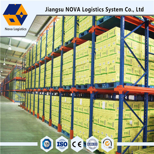 Industrial Warehouse Drive Through Rack for Warehouse Storage