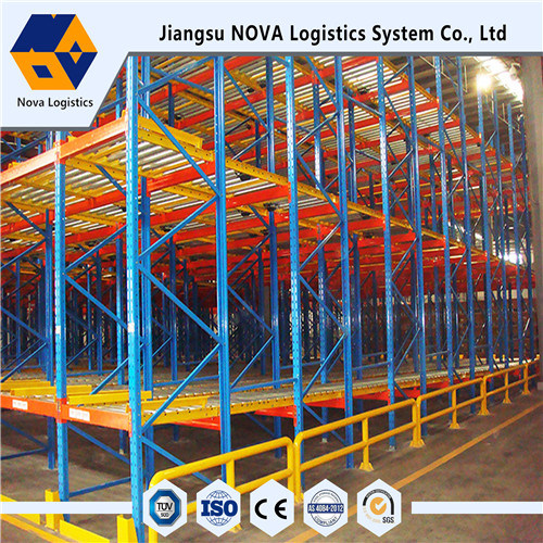 Warehouse Storage Heavy Duty Gravity Pallet Racking