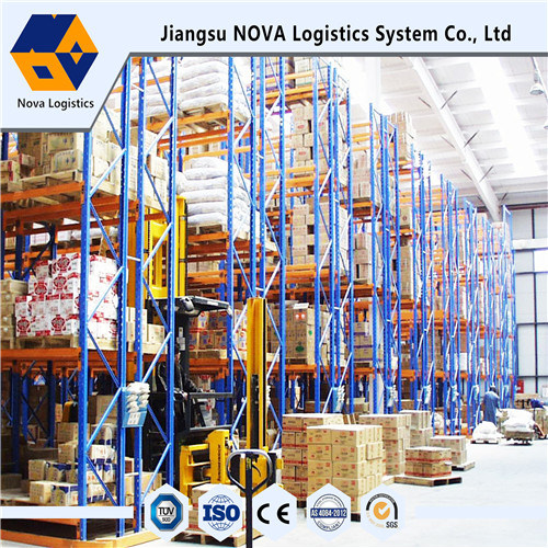 Heavy Duty Steel Narrow Aisle VNA Pallet Rack