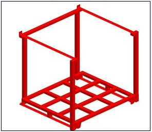 Heavy Duty Steel Side Cut-in Frame Pallet