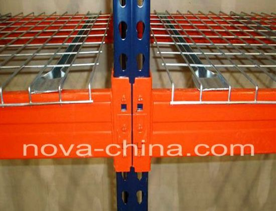 2014 New China Selective Heavy Duty Steel Wire Mesh Decking for Pallet Racking