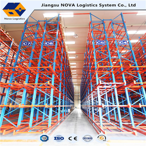 Heavy Duty Very Narrow Aisle VNA Pallet Racking