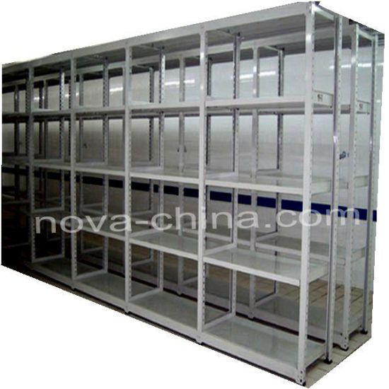 Light Duty Library Shelving From Nova Logistics