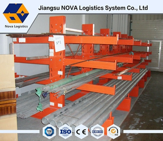 Warehouse Storage Cantilevered Racking with Arms