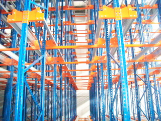 Radio Shuttle Pallet Racking System