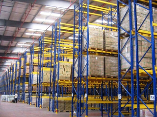 Popular Steel Customized Heavy-Duty Selective Pallet Racking